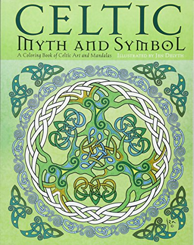 Celtic Myth & Symbol: A Coloring Book of Celtic Art and Mandalas for $<!--$12.99-->