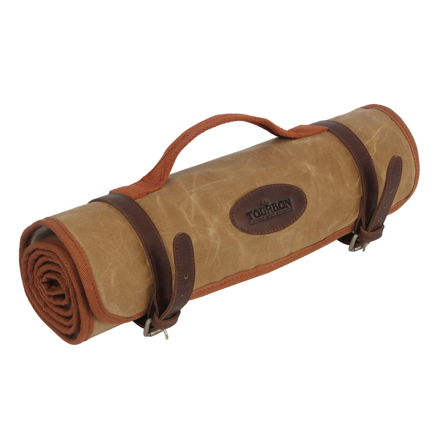 TOURBON Shooting Hunting Roll-up Gun Cleaning Mat Pad with Tool Storage Pocket by TOURBON