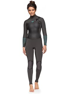 c0c5039659 Amazon.com   Roxy Womens 3 2Mm Syncro Series Back Zip GBS Wetsuit ...