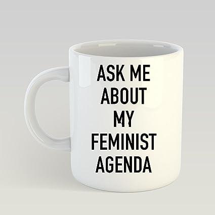 Amazon.com: SAYOMEN ASK ME ABOUT MY FEMINIST AGENDA - MARVEL ...
