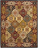 Safavieh Heritage Collection HG512B Handcrafted Traditional Oriental Multi and Red Wool Area Rug (5' x 8')