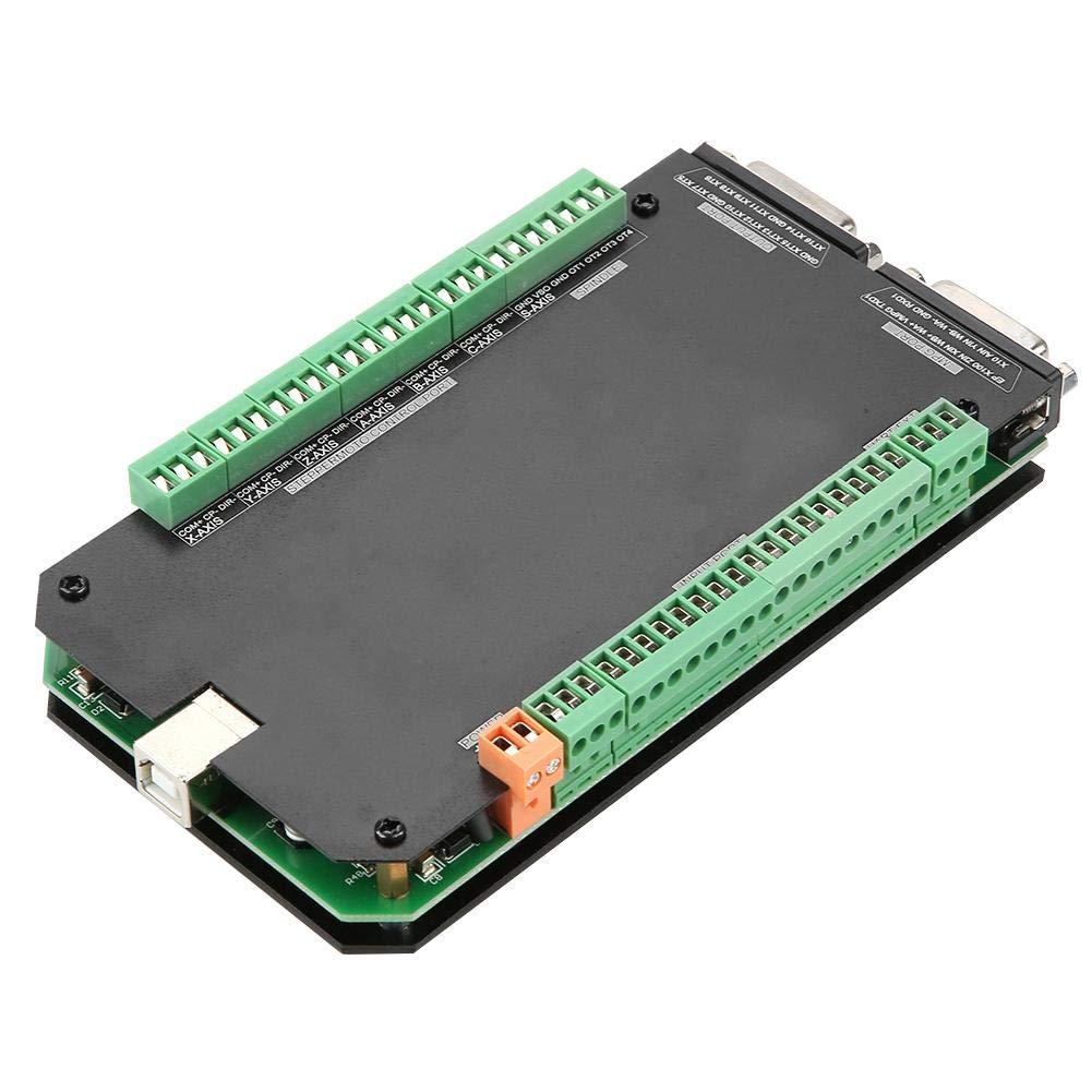 Ethernet-MACH3-Motion-Control-Karte NVCM-MACH3-USB-6-Achsen-Stepper-Motion-Controller-Karte Brea-Kout-Board f/ür CNC-Gravur