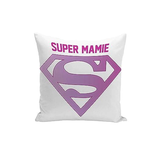 Fabulous Funda de Cojín Super Granny Logotipo púrpura del ...