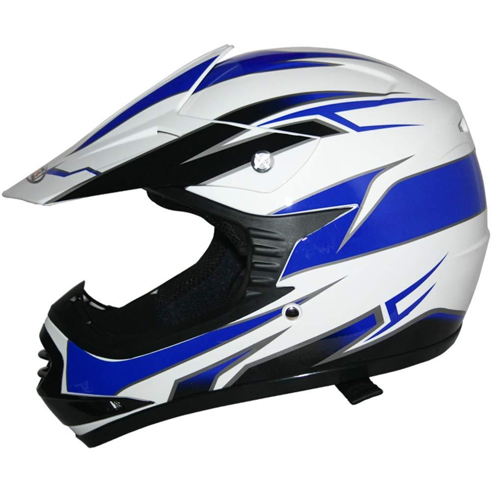 Tuta da Motocross per Bambini Guanti Leopard LEO-X16 Casco da Motocross per Bambini off-Road ECE 22-05 Approvato Occhiali