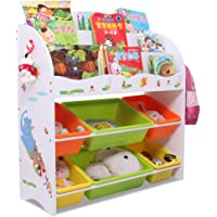 Children's Toy Storage Rack Baby House Book Shelf Children's Book Locker Children's Bedroom Finishing Storage Box Mom Cleans The Shelf of The Child's Room