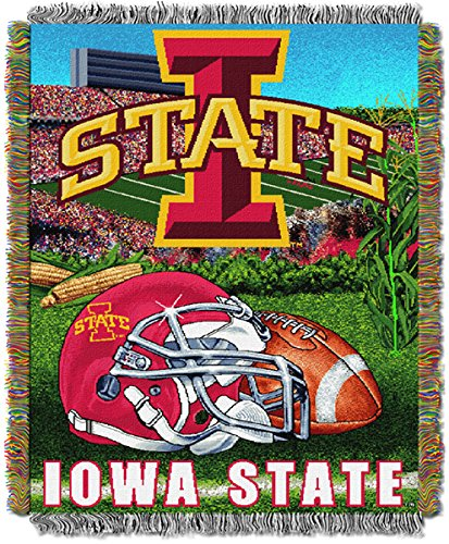 - NCAA Iowa State Cyclones 48'' x 60'' Woven Tapestry Throw Blanket