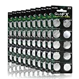 CR2016 Battery- Lithium Button Coin Cell Batteries - 3V 3 Volt - Remote Watch Jewelry led Rave Gloves Orbit Key fob Replacement 2016 CR Pack Set Bulk (100 Pack)