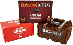 Exploding Kittens: Game Night Bundle