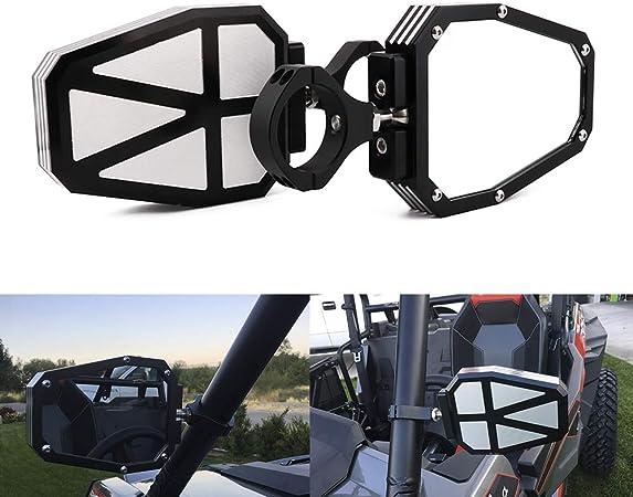 "ATV UTV 1.75 /""2/"" Rétroviseur Latéral Pour Polaris Ranger Yamaha Rhino Pioneer"