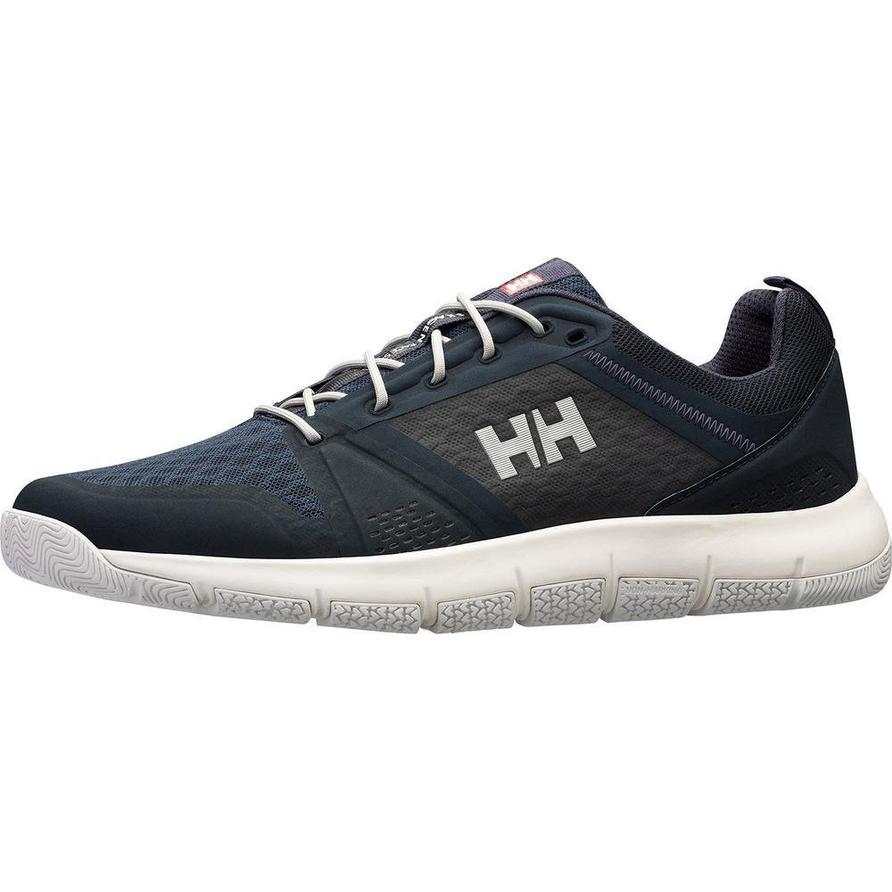 Helly Hansen Skagen F-1 Offshore, Mocasines para Hombre 42 EU|Multicolor (Ebony/Alertred/Silver 980)