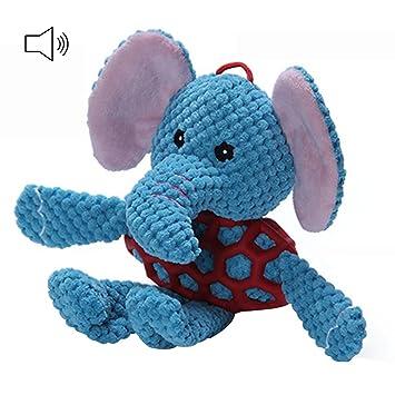 petacc mascota masticar juguete perro mordedor, diseño de peluche con insertar papel agrietado, ideal para gatos, perros, gatos y cachorros, ...