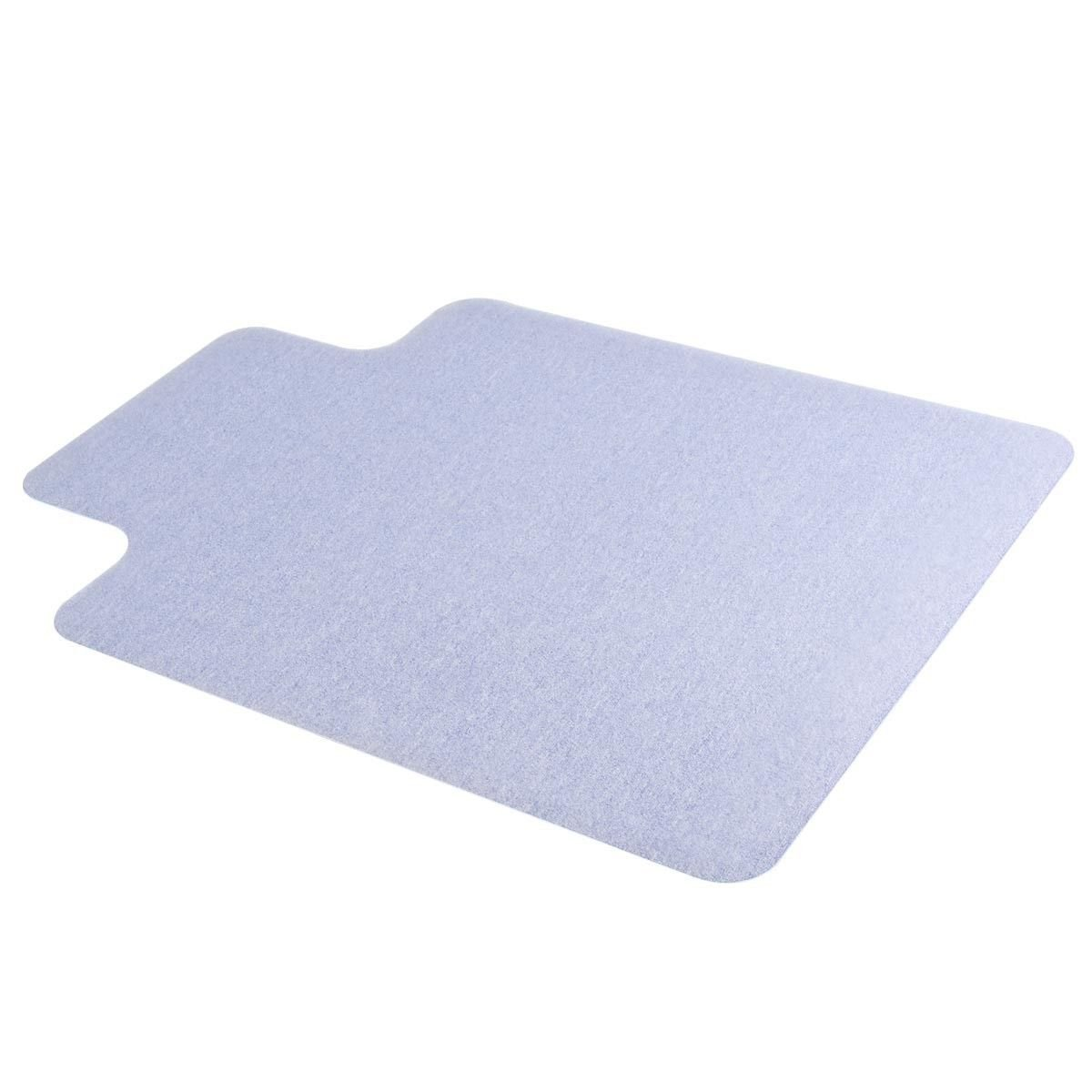 Goplus 48'' x 36'' Clear PVC Office Chair Mat for Hard Floor Tile Protection to 1.50mm Thick (48'' x 36'')