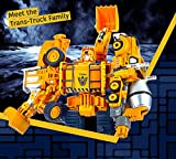 5 Pack TransTruck Transforms to Tractor and Robot