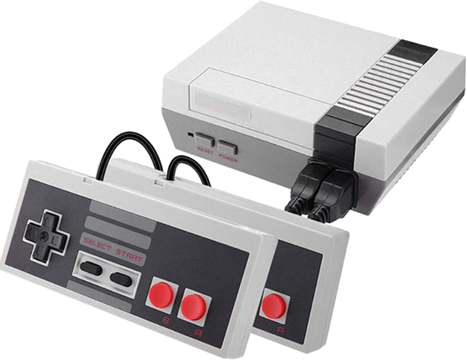 Classic Mini Retro Game Console, 8-bit Video Game Built-in 350 Games with 2 Classic Controllers