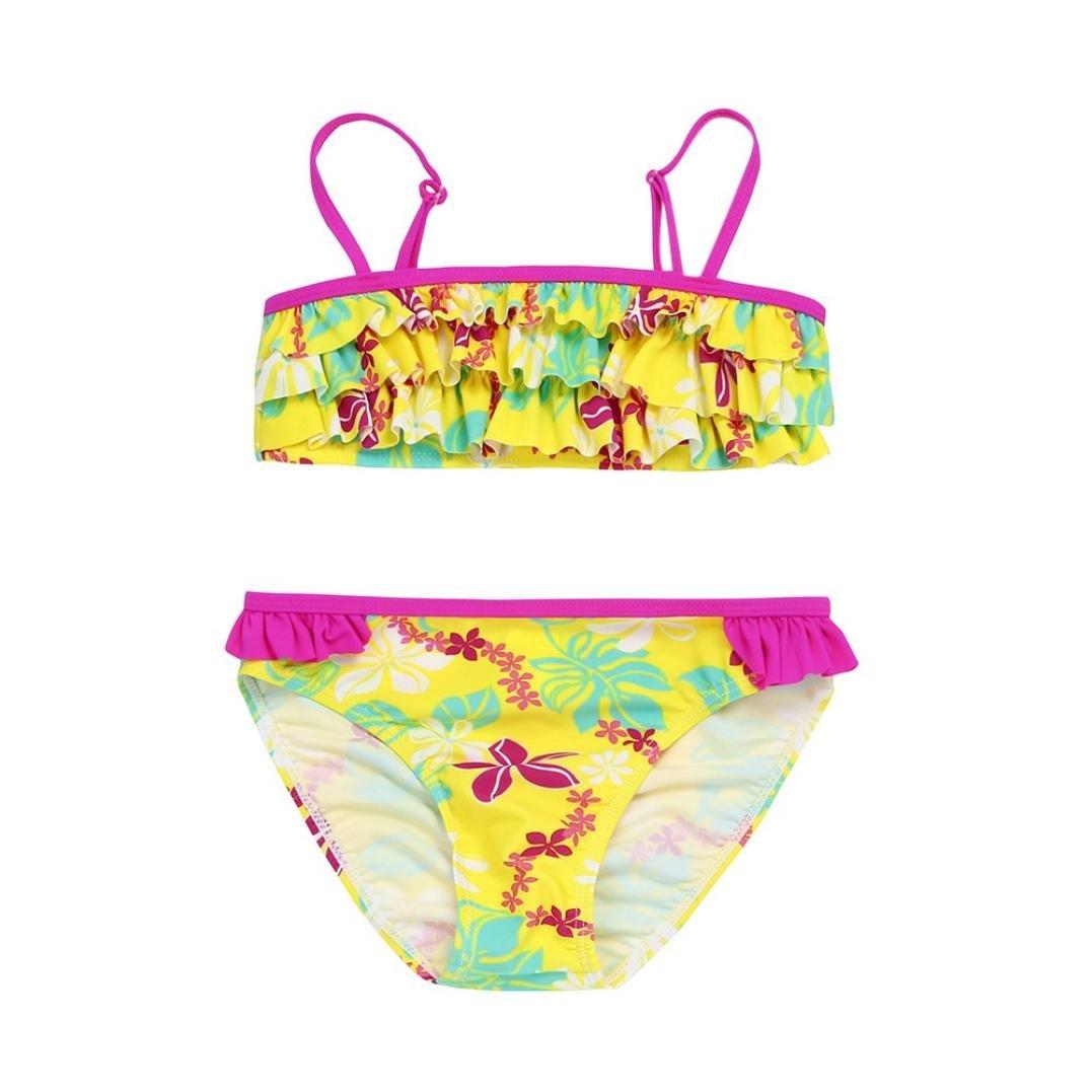 148a189500ebc Amazon.com  Moonker Baby Girls Bikini Swimsuit