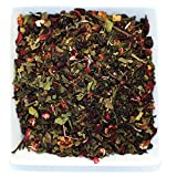 Tealyra - White Garden Bouquet - Fruity White Loose Leaf Tea Blend - Hibiscus - Strawberry - Raspberry - Antioxidants and Vitamines Rich - All Natural Ingredients - 110g (4-ounce)