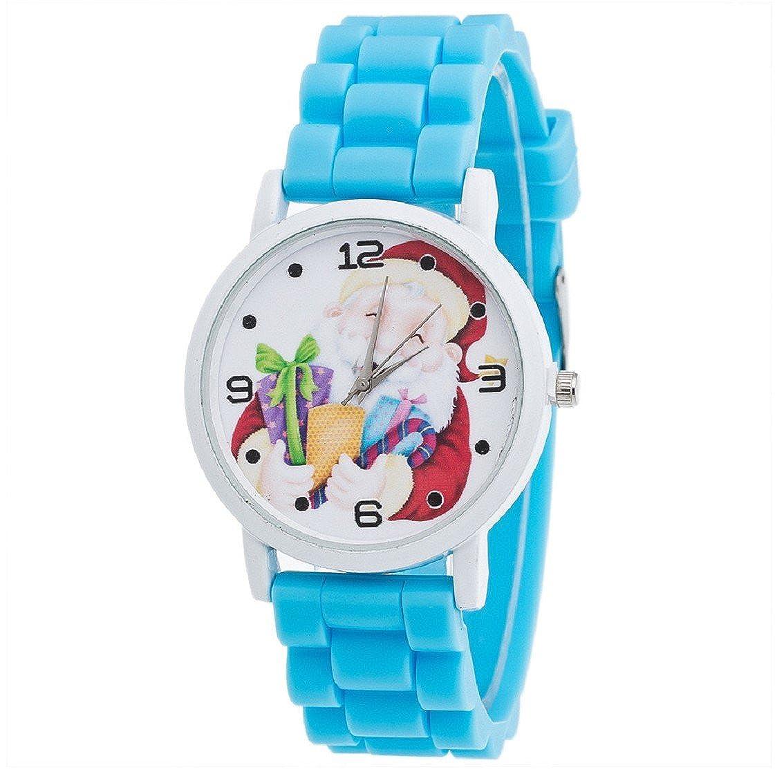 Vovotrade Weihnachtsgeschenke-Uhr-Süßigkeit Farbe männliche und ...