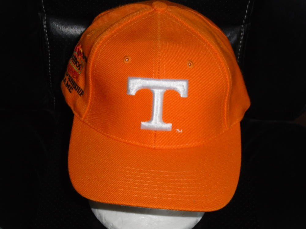 1999 TENNESSEE NATIONAL CHAMPIONS FIESTA BOWL SNAPBACK HAT NEW
