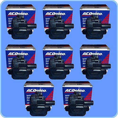 Ls1 Packs Coil (New OEM Ignition Coil Set (8) BS-C1144 For LS1 LS6 Engines)