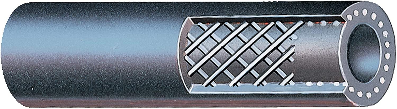 Fuel Line Hose 12 Month 12,000 Mile Warranty x 25 ft Gates Rubber 27006 1//2 in