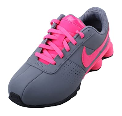 check out 01b6c 7c510 Nike Shox Deliver SMS PS Kids Cool Grey Hyper Pink Black Sneakers