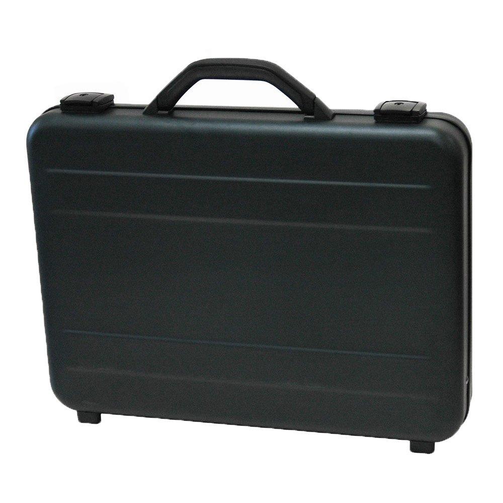18 Hard-Sided Laptop Case Attache Case in Black T.Z Case Aluminum Briefcase