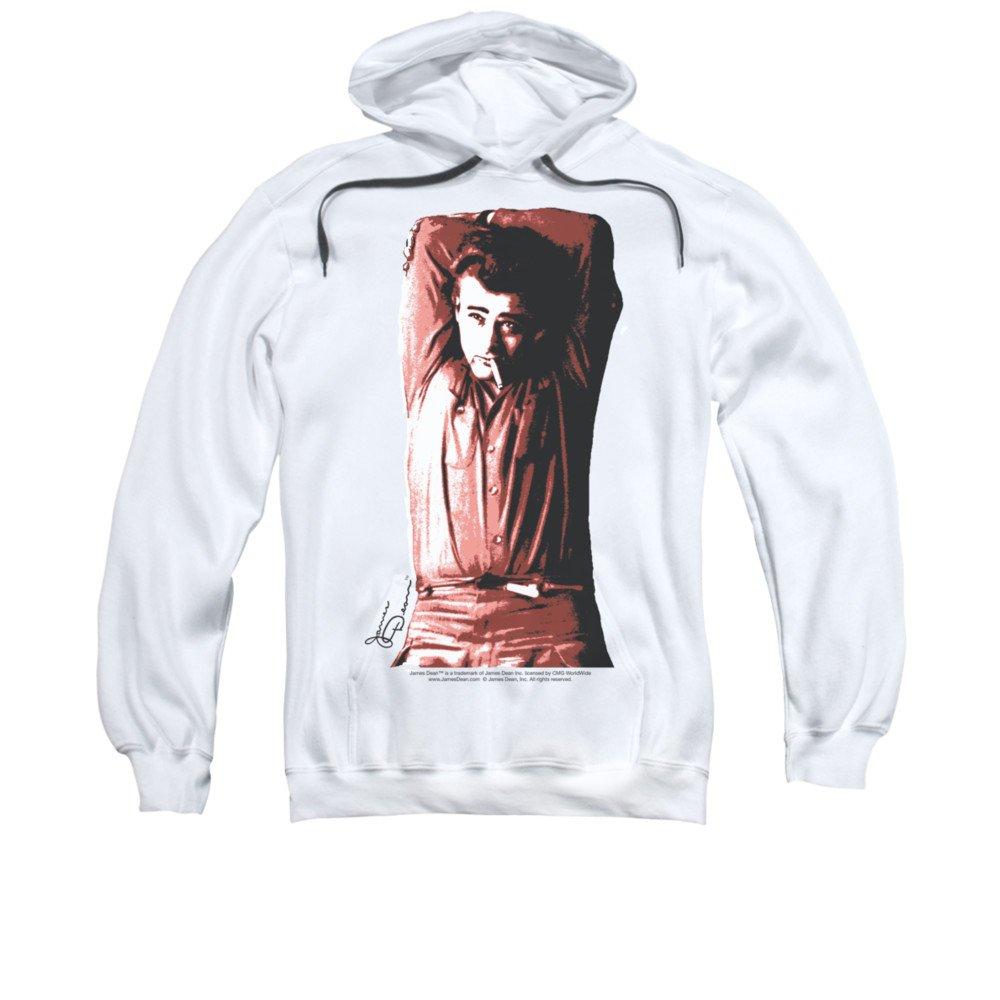 2Bhip James dean hollywood-ikone verschränkten arme unterschrift hoodie für Herren