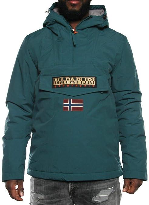 Napapijri chaqueta con capucha hombre N0YFRJB33 SELVA A Royal INVIERNO
