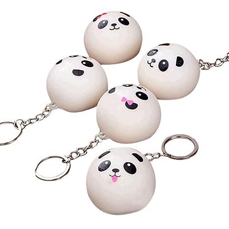 Scrox 10 Piezas Panda Pan teléfono móvil Bolso Colgante ...