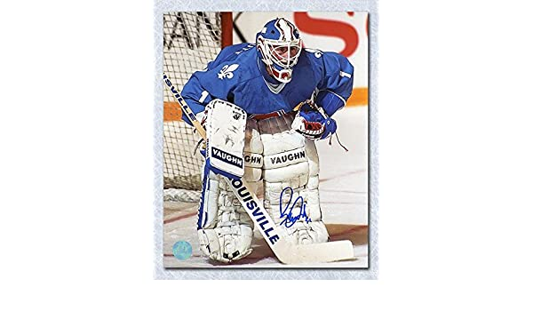 Ron Tugnutt Signed Photo - Goalie 8x10 - Autographed NHL Photos at Amazon s  Sports Collectibles Store 5781eb82d