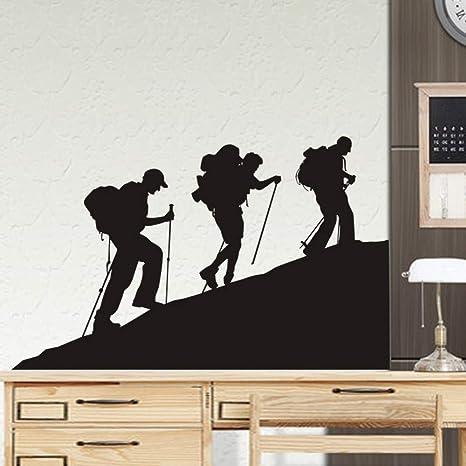 Pegatinas de escalada calcomanías de alpinismo póster de ...