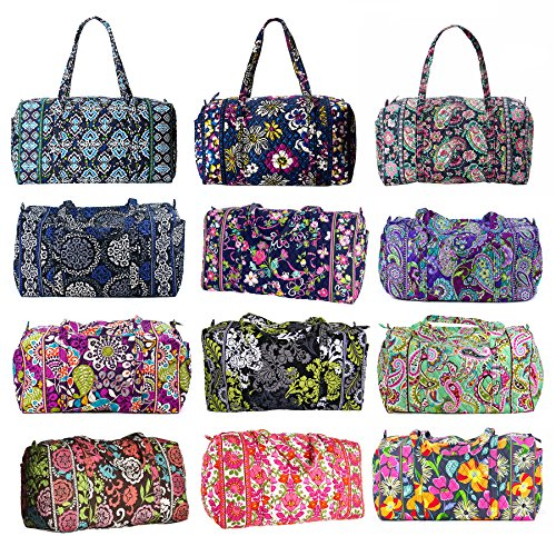 0c3d80db9e81 Amazon.com  Vera Bradley Luggage Women s Large Duffel Heather Duffel Bag   Accessory  Vera.  Shoes