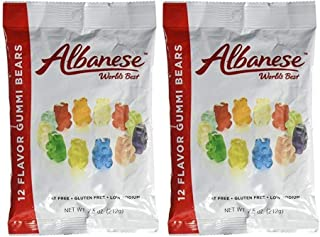 product image for Albanese 12 Flavor Gummi Bears, 7.5oz (Pack of 2)