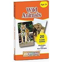 Zigyasaw Wild Animals Flash Cards