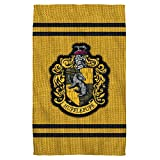 Hufflepuff Stitch Crest -- Harry Potter -- Bath Towel (27'' x 52'')