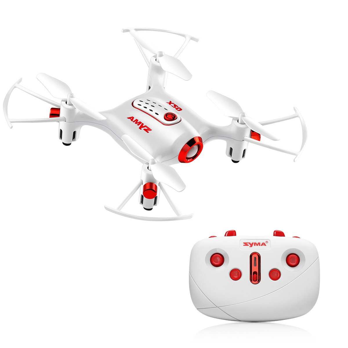 Syma X20 Mini Drone Headless Mode 2.4Ghz Nano LED RC Quadcopter Altitude Hold One Key Take-Off/Landing