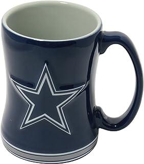 088bd1e11 Amazon.com   Boelter Brands NFL Dallas Cowboys Sculpted Relief Mug ...