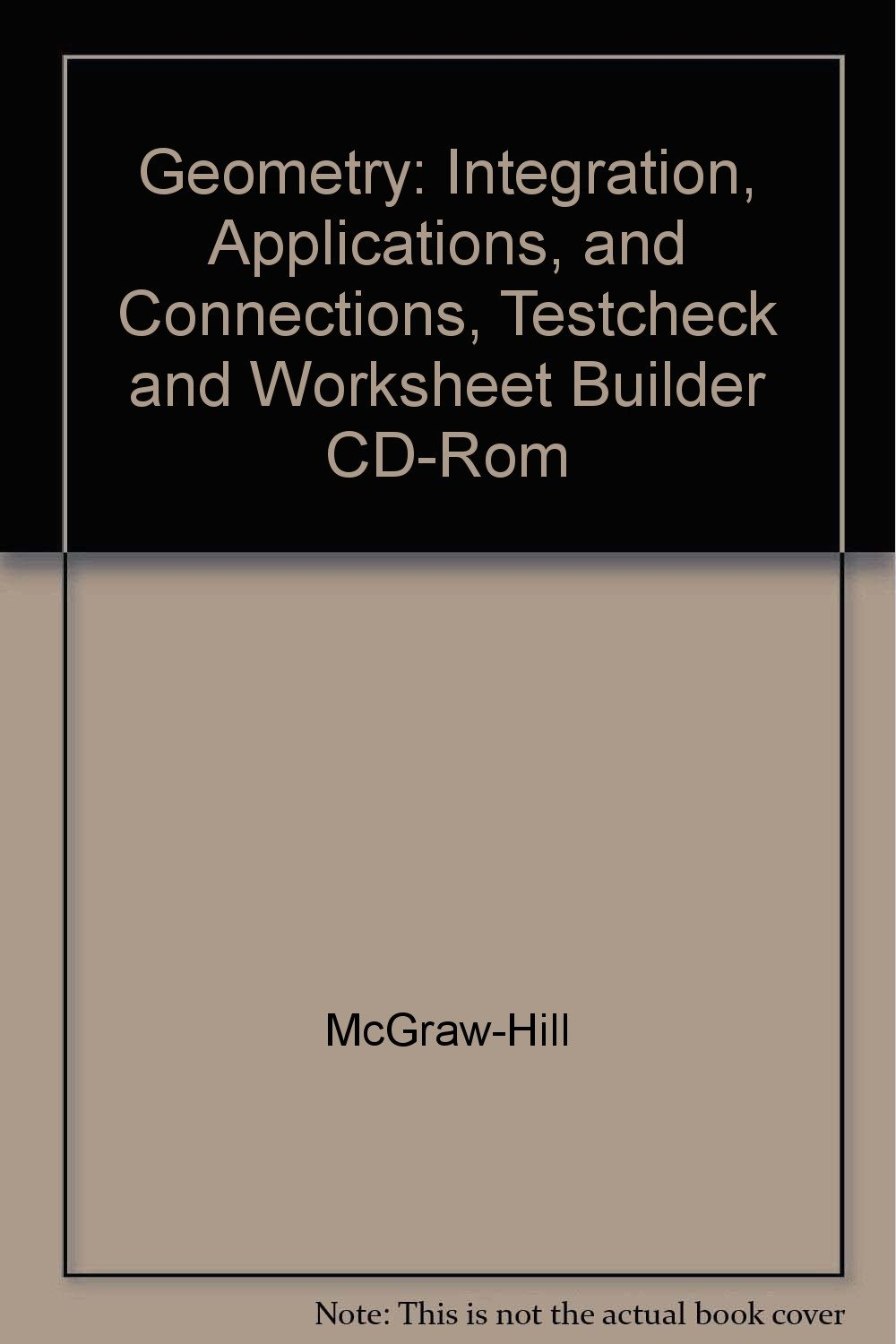 Geometry Integration Applications and Connections Testcheck – Worksheet Builder