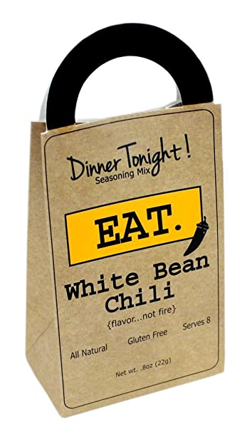 Backyard Safari Company Dinner Tonight Seasoning Mix, Eat, White Bean Chili
