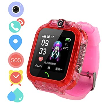 Winnes Smartwatch teléfono Niños, Reloj Inteligente Niña Reloj ...