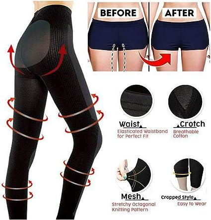 Amazon.com: Women Compression Leggings Shaper Pantyhose Tights ...