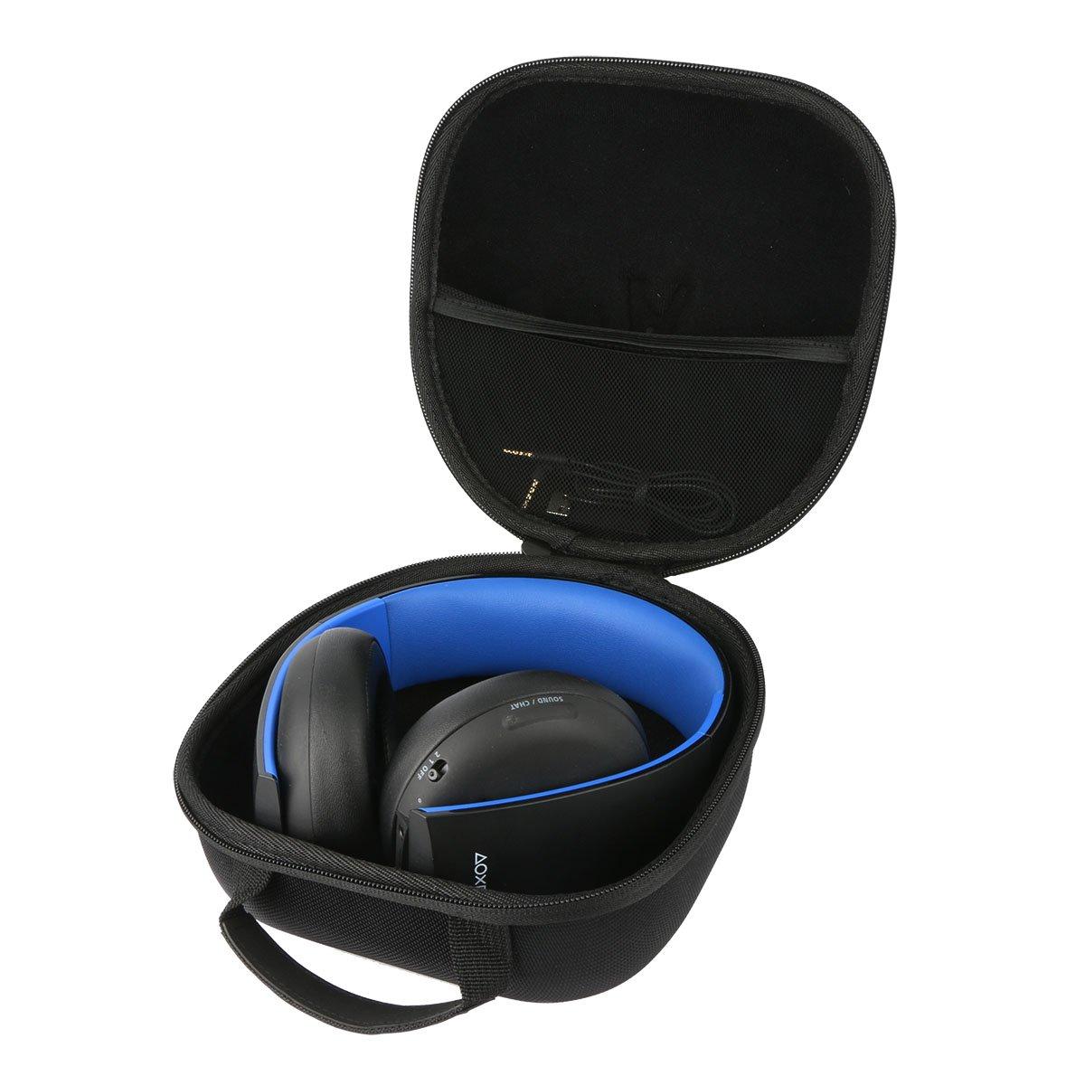 Teckone Portatile Custodia da viaggio Memorizzazione per Sony PS4//PS3//PS Vita Cuffie wireless stereo microfono cuffia //PlayStation Controller Dualshock Wireless Mesh Pocket per altro Accessori