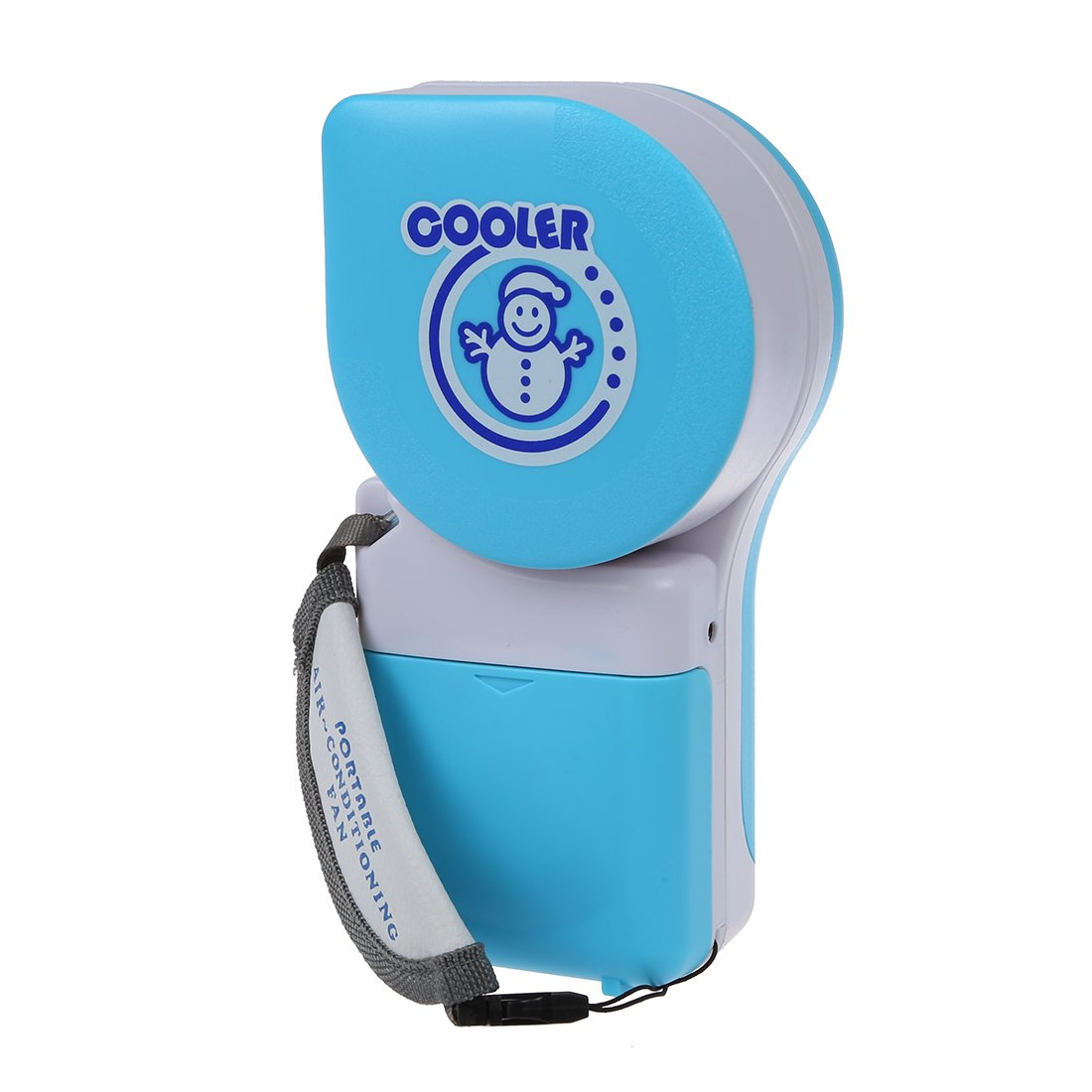 SODIAL(R) Portable Small Fan & Mini-Air Conditioner Handy Cooler Speed Adjustable