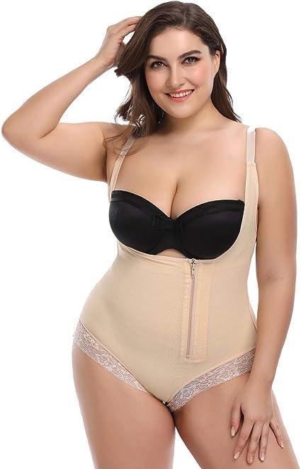 TOPMELON - Faja Reductora Moldeadora Cintura de Bodysuit de Mujer ...