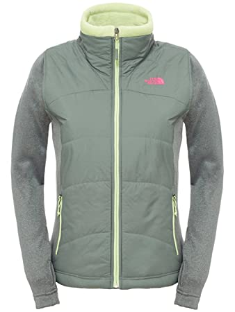 624af0c4f North Face Women's Agave Mash-Up EU Jacket - Green/Laurel Wreath ...