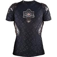 G-Form Pro-X Padded Compression Shirt, Black Logo, Adult Medium