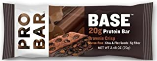product image for Probar Base Brownie Chocolate Crisp Protein Bar, 2.1 Ounce -- 144 per case