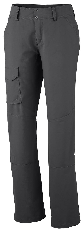 Columbia Silver Ridge, Pantalones de Senderismo para Mujer, Gris (Grill), 34 EU (2 UK) AL8003