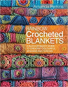 Rainbow Crocheted Blankets: Amazon co uk: Amanda Perkins