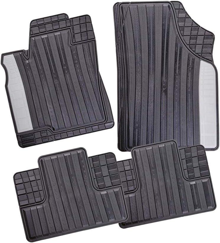 Gummimatten Gummi Fußmatten für Audi A4 B9 A5 F5  Gummifußmatten Satz 4 Teilig